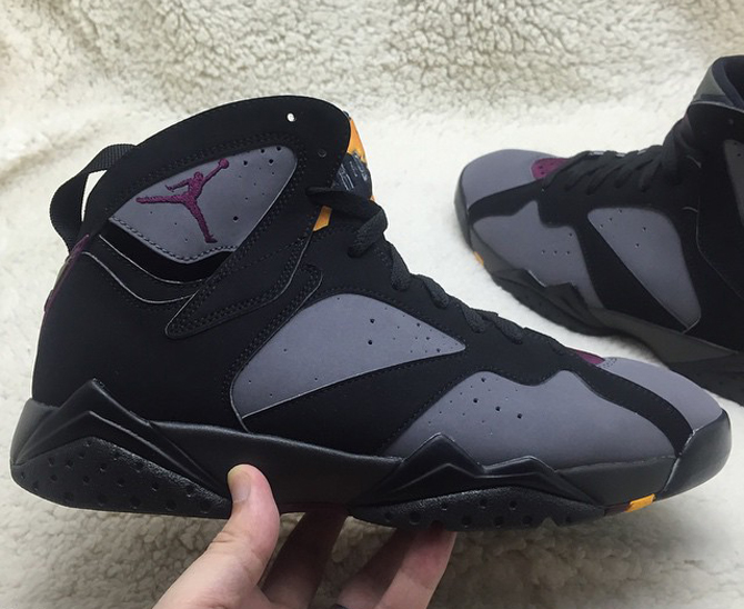 Jordan 7 Bordeaux 2015 Remastered