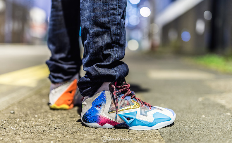 'What The' Nike LeBron 11