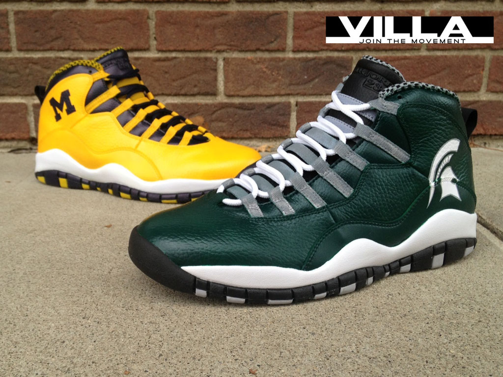 Air Jordan 10 X 'A State Divided' for VILLA by Mache Custom Kicks (3)