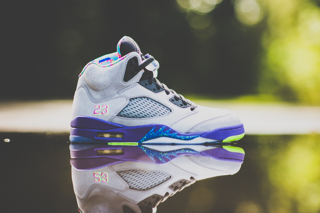 8c1d410d90b6 The Jordan Brand celebrates the Fresh Prince s love for the Jordan Brand  with this weekend s  Bel-Air  Air Jordan 5 Retro.