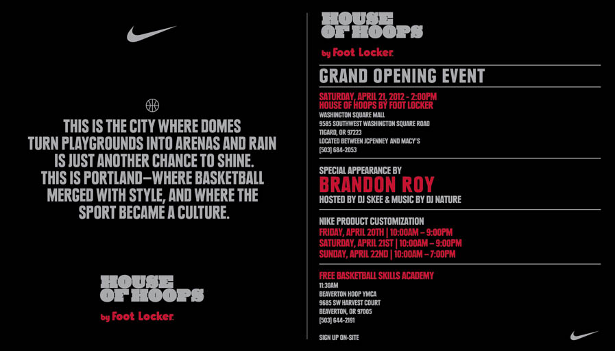 House of Hoops Portland Grand Opening Event with Brandon Roy