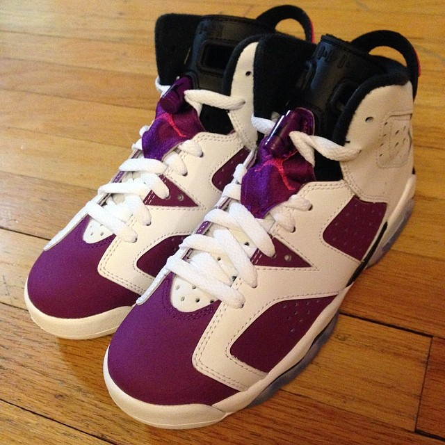 online store fc3bc 61bbb ... ireland air jordan vi 6 grape purple gs girls 543390 127 1 52c9b 53470