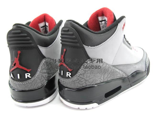brand new ec4d6 521ef Air Jordan Retro 3 Stealth Varsity Red Light Graphite Black 136064-003