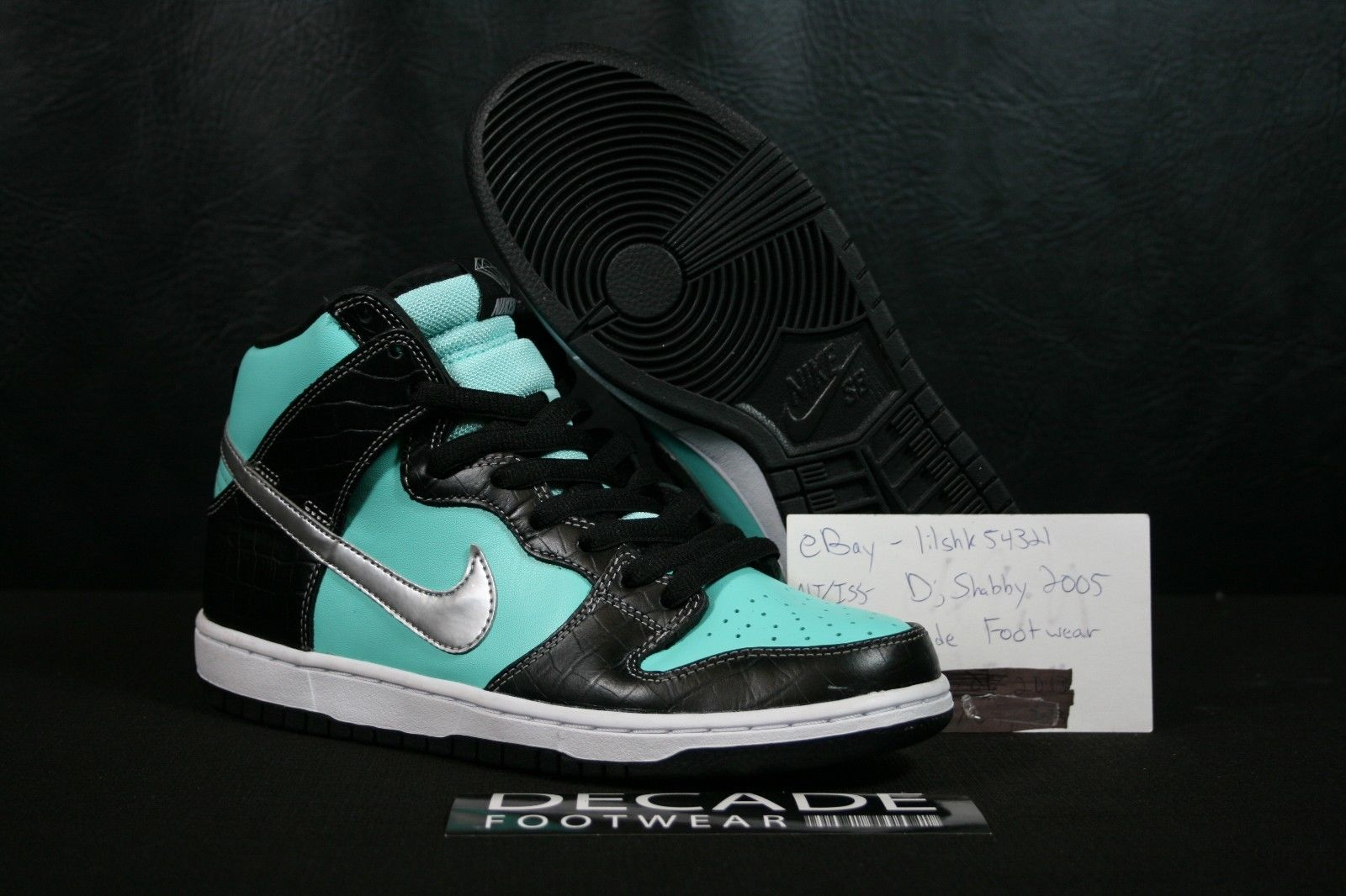Diamond Supply Co. x Nike SB Dunk High  Diamond     New Images ... c904116ee