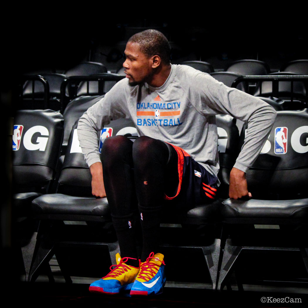 sole watch up close at barclays for nets vs thunder