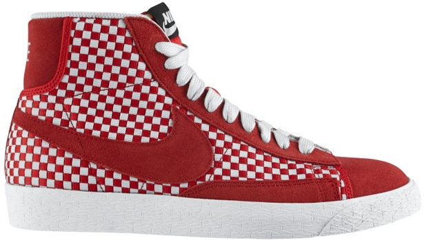 Nike Blazer Mid Woven Hyper Red/Hyper Red-Neutral Grey