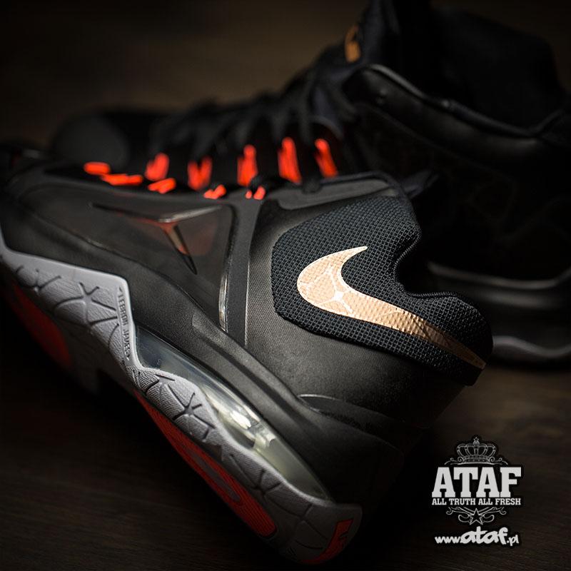 new concept 37aa0 e4c4d Nike LeBron Ambassador 7. Color  Black Metallic Red Bronze-Hot Lava-Wolf  Grey Style    705269-098