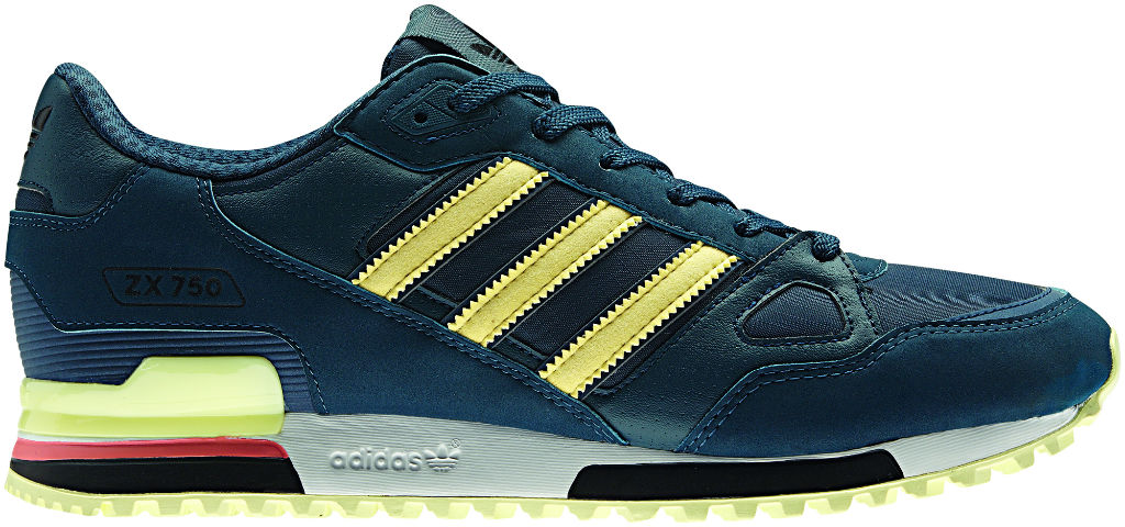 adidas Originals ZX 750 Green Yellow Spring Summer 2013 Q23660 (1)
