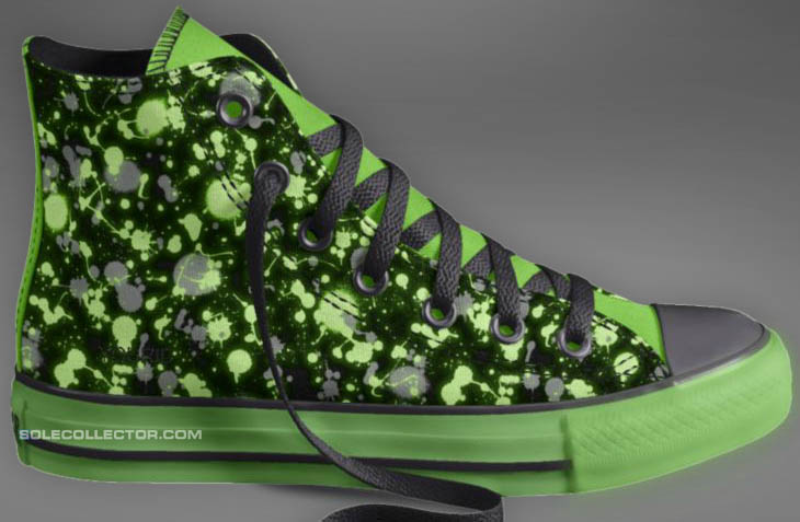 ca7baeec644b3 Customize Your Own Glow in the Dark Converse Chuck Taylor Shoes ...