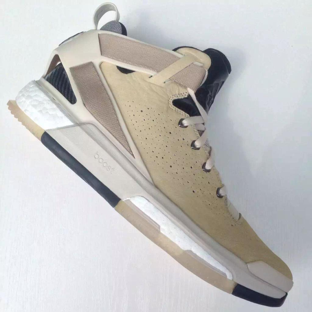 adidas D Rose 6 Boost Tan (1)