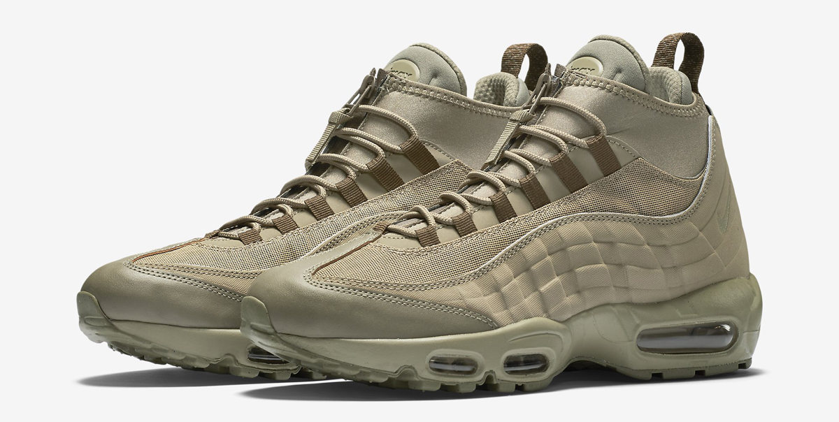 air max 95 sneakerboot olive