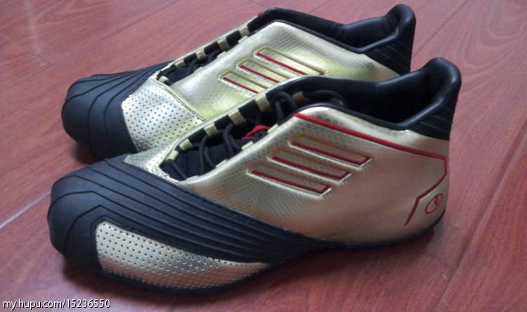adidas TMAC 1 Gold Black Red