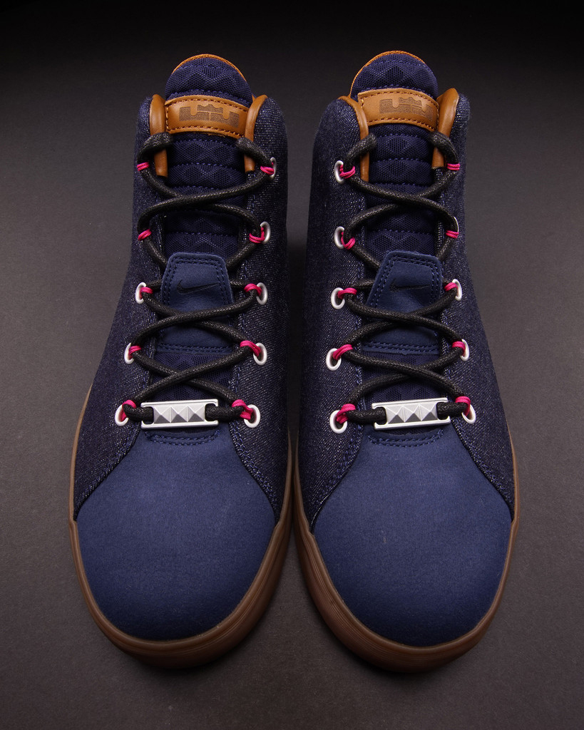 sports shoes 9b4c5 44c83 The  Denim  Nike LeBron XII NSW Lifestyle hits nike.com as well as select  Nike Sportswear retailers such as Oneness on Friday, December 19.