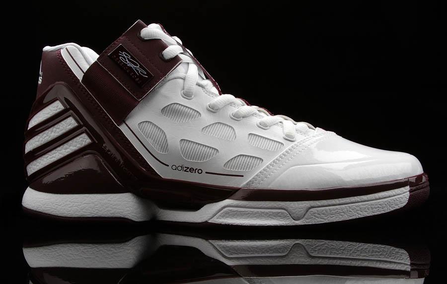 hot sale online 3c051 92d4c adidas adiZero Rose 2 Texas AM Aggies