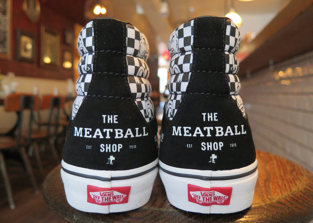 The Meatball Shop Vans Sk8 Hi Heel