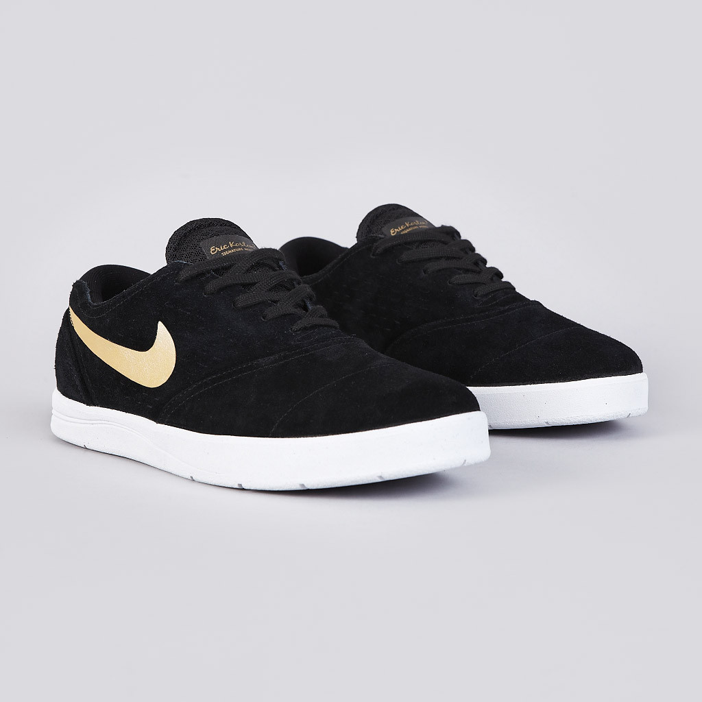 Nike Skateboarding presents the new Eric Koston 2 in a Black   Metallic  Gold colorway. 21ab8a6c41
