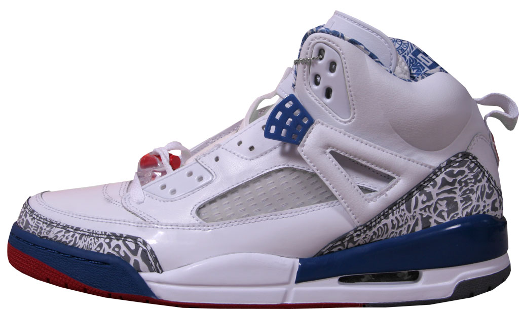 competitive price b0b9c 7c0f9 Jordan Spiz ike  True Blue 315371-163 White Varsity Red-True Blue