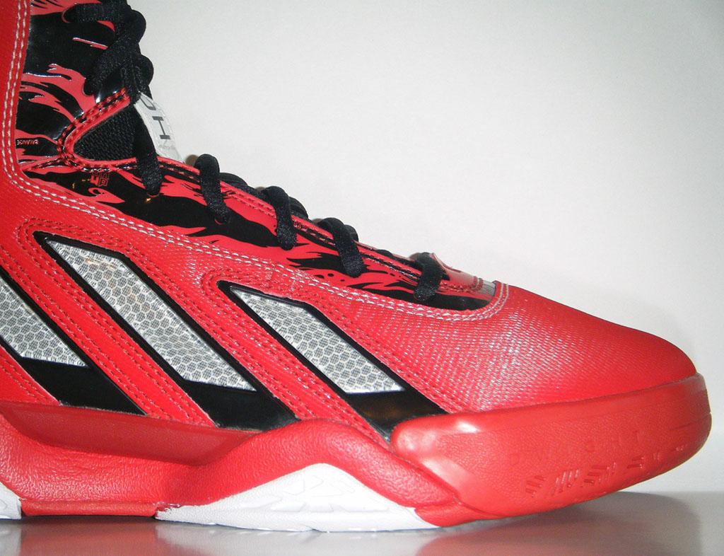 new arrival 8b88d b917d adidas adiPower Howard 3 Red Black (5)
