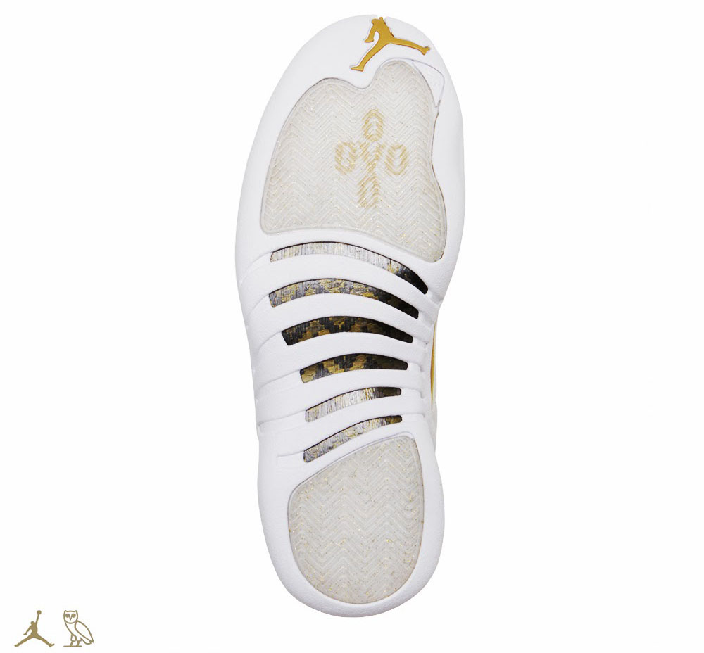 OVO x Air Jordan 12 White (3)