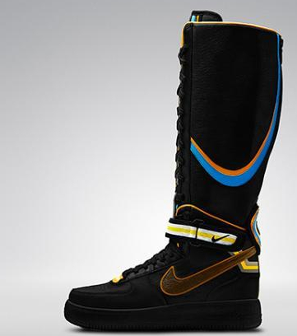 Nike Air Force 1 Boot Supreme RT Women's Black/Baroque Brown