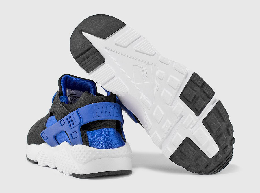 quality design aee27 8f30a black and blue huaraches