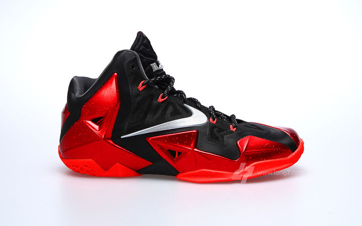 Nike LeBron XI Black Red Miami Heat Release Date 616175-001 (1)