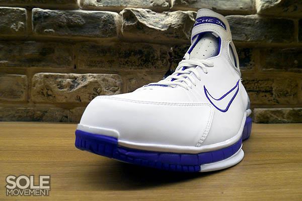 super popular ef580 1bda1 Nike Air Zoom Huarache 2K4 White Metallic Silver Pro Purple 511425-115 (6)