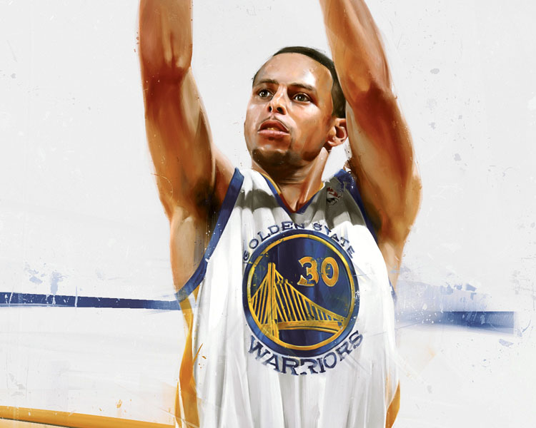 RareInk x Stephen Curry by Denis Gonchar (2)