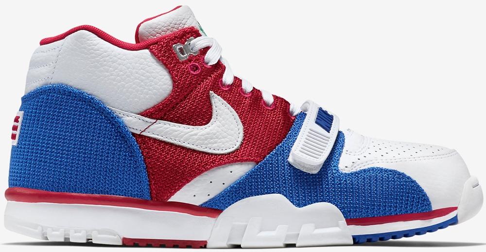 Nike Air Trainer 1 Mid Premium White/Gym Red-Game Royal-White