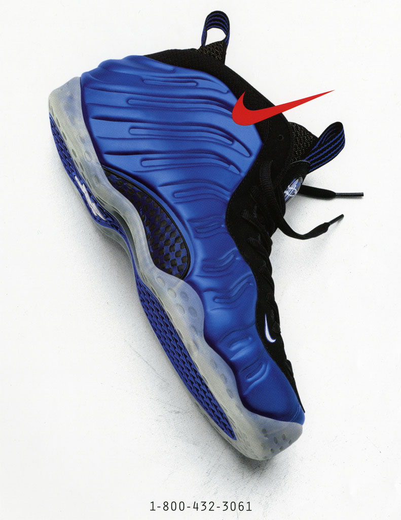 reputable site 2f9d0 0d5ed Nike Air Foamposite One Ad