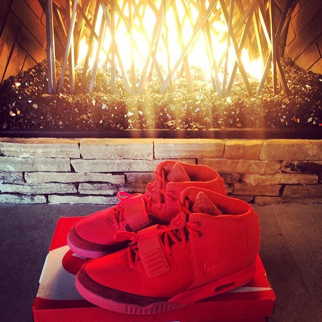 The Game Picks Up Nike Air Yeezy 2 Red October