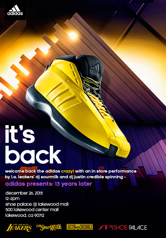LA Leakers & adidas Launching Crazy 1 in LA with Event & New Mixtape (1)