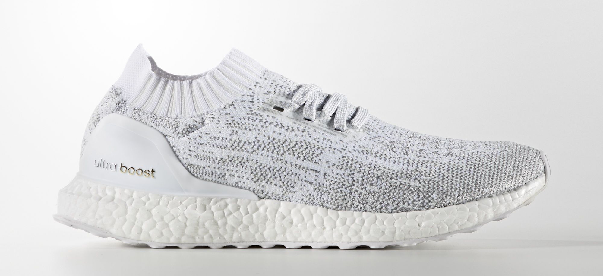 premium selection 1e1ff 730b1 Image via Adidas Adidas Ultra Boost Uncaged White Reflective