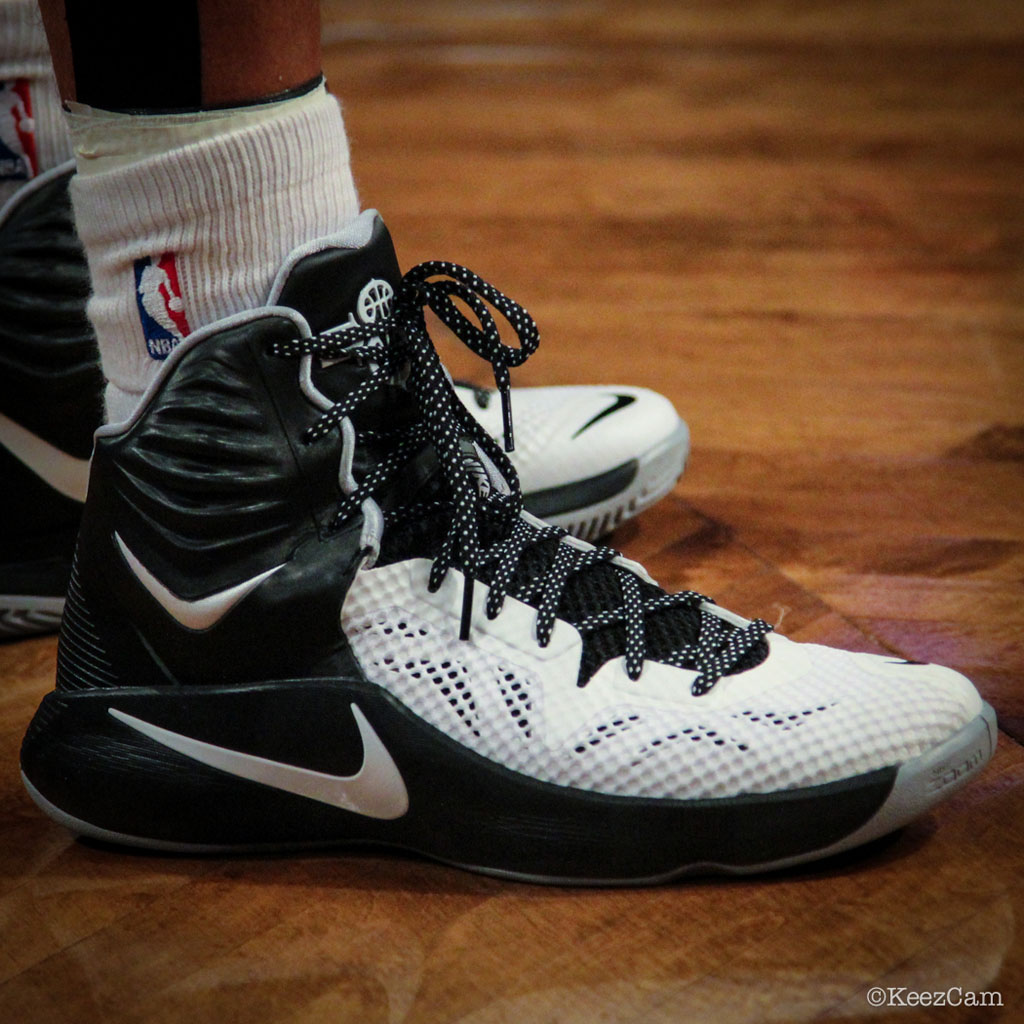 Deron Williams wearing Nike Hyperfuse 2014 PE