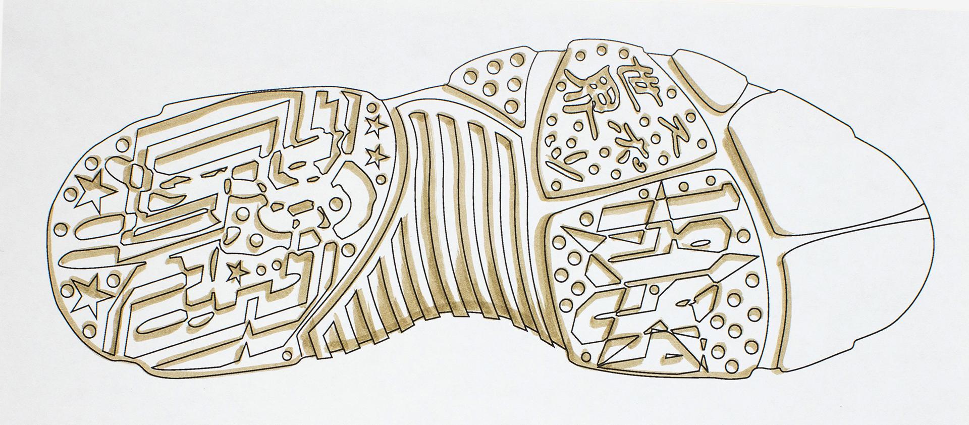 Air Jordan 9 Design Sketch 3