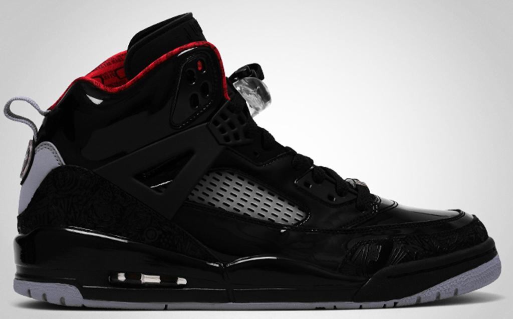 wholesale dealer 925bd 20f3c Jordan Spiz ike 315371-001 Black Varsity Red-Stealth