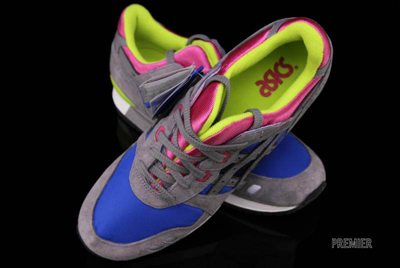 cheapest price reasonable price newest ASICS Gel-Lyte III - Grey/Royal/Pink   Sole Collector