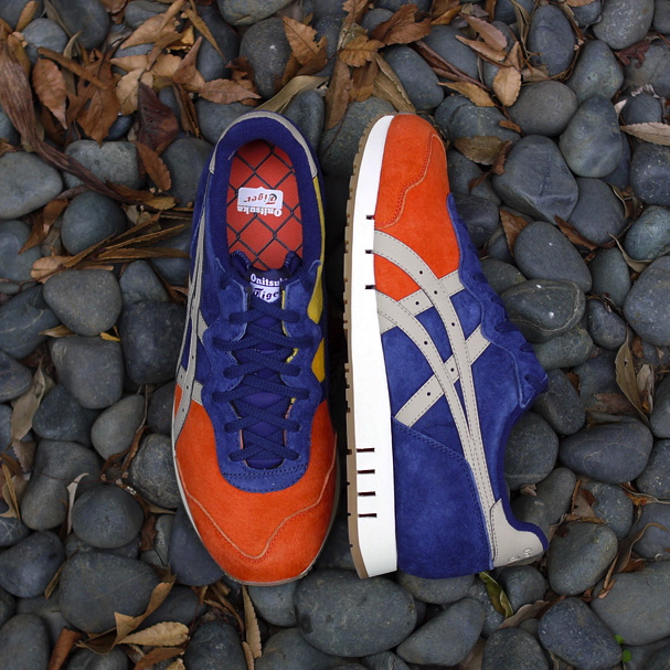 mita sneakers x Onitsuka Tiger X-Caliber Tequila Sunrise