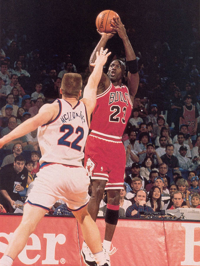 Michael Jordan wearing Air Jordan XI 11 Concord (40)