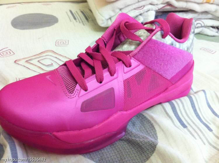 Nike Zoom KD IV Aunt Pearl Kay Yow Think Pink 473679-601 (1)