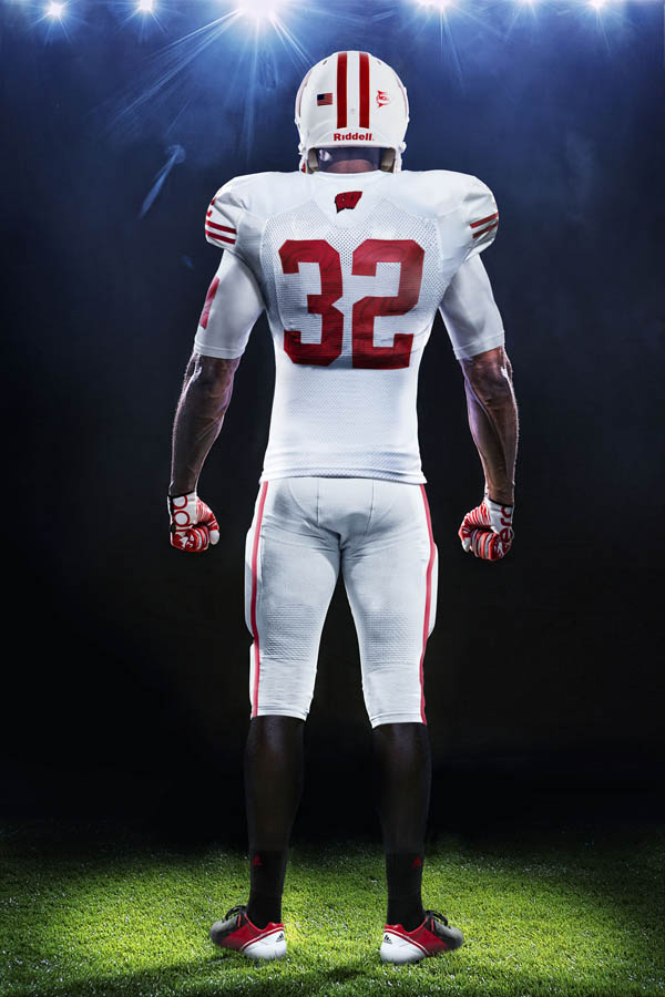 adidas Wisconsin Rose Bowl Uniforms Unveiled (4)