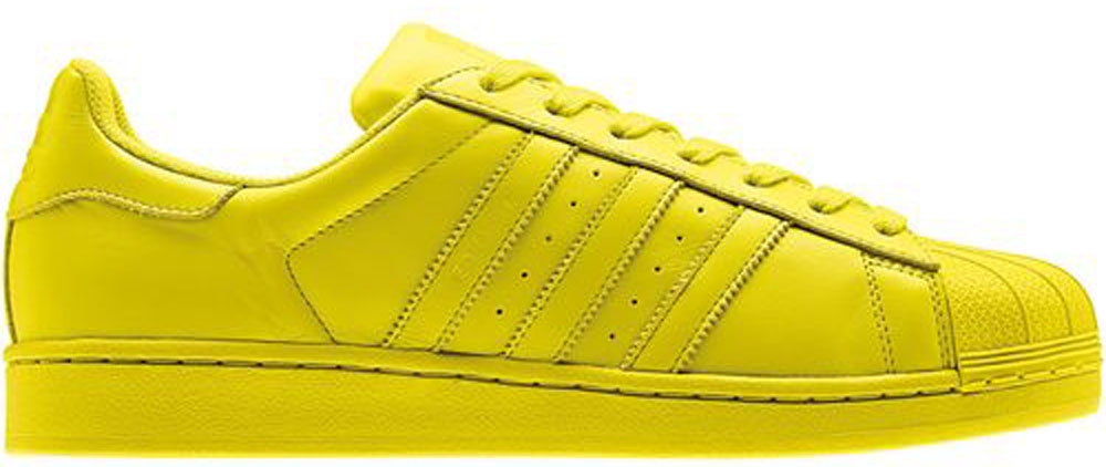 adidas Superstar Bright Yellow/Bright Yellow-Bright Yellow