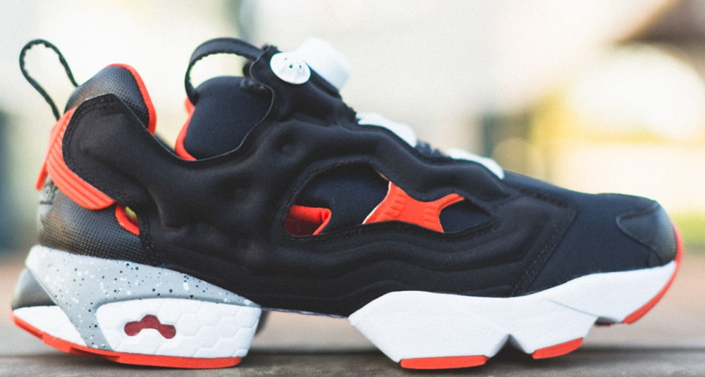 Reebok Instapump Fury Black/Steel-Blood Orange