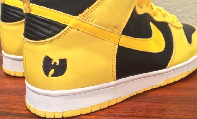 competitive price d157b 7c872 Nike Dunk High Wu-Tang (1)