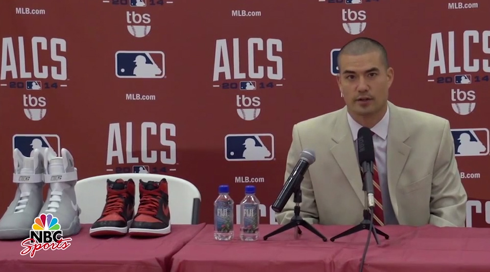 Jeremy Guthrie Announced His Retirement From Sneakers Literally ... c88f994de