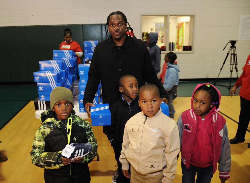 adidas Sponsors Pusha T 1000 Shoes for a 1000 Smiles Event (13)