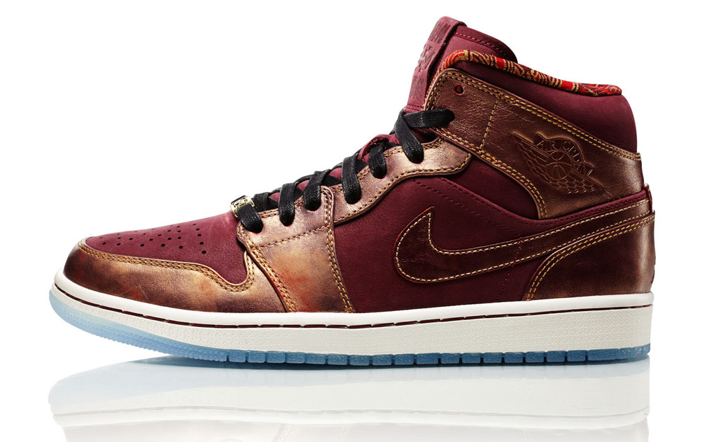 Nike Women's 2014 Black History Month BHM Collection - Air Jordan 1 Mid (1)