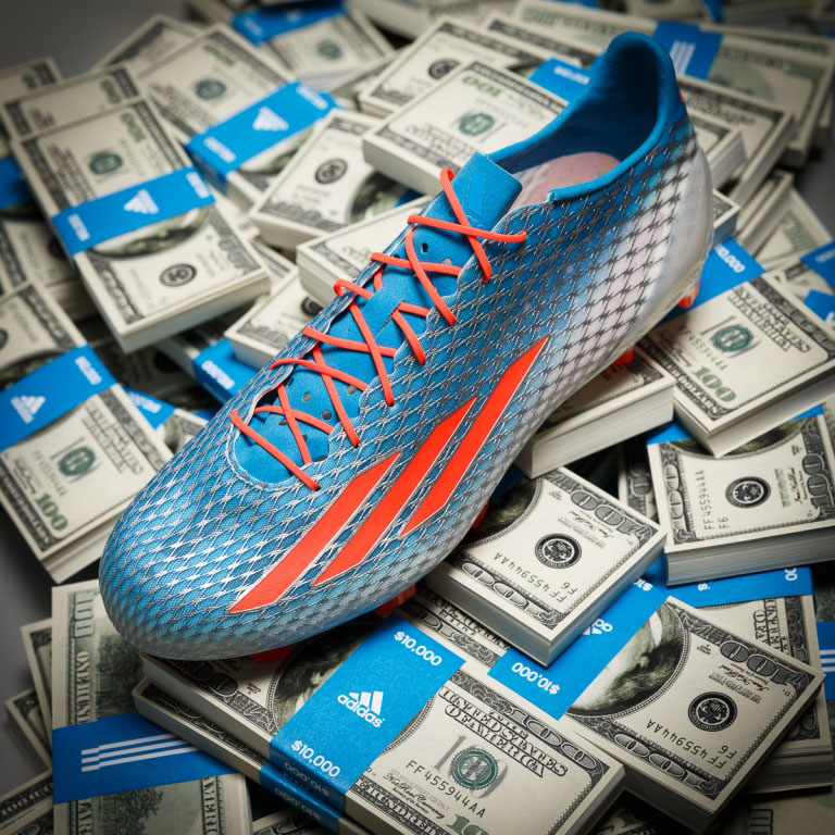 adidas to Award $100K to the Fastest Player at the NFL Combine