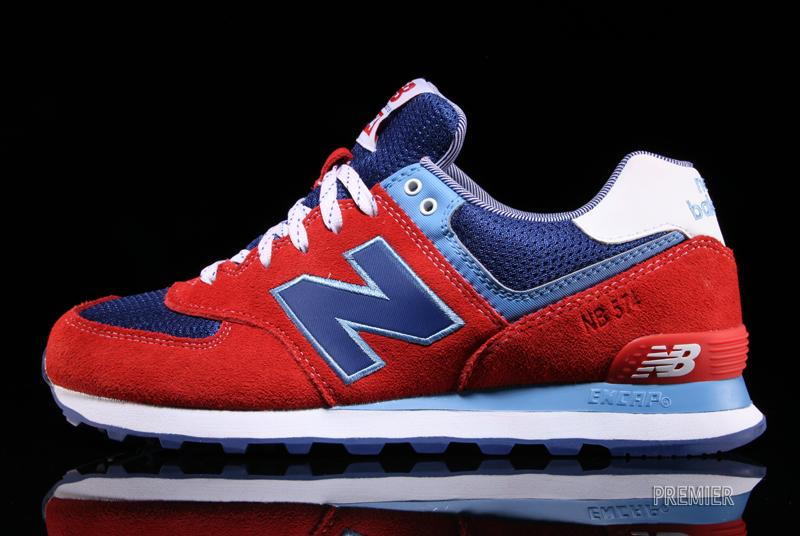 blue and red new balance