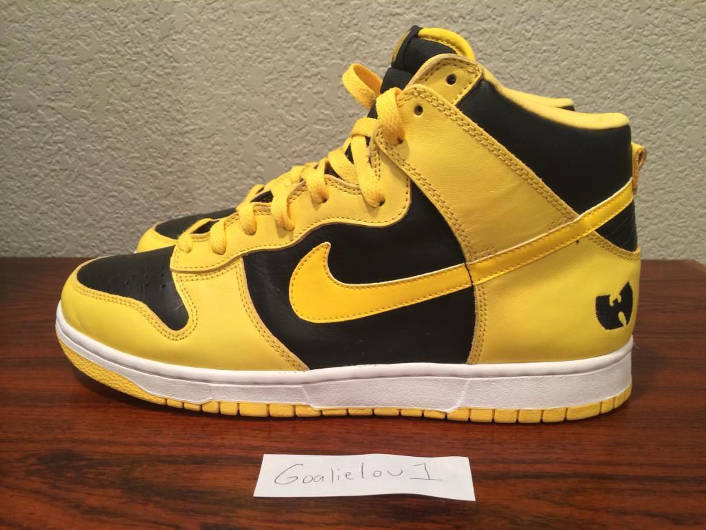 buy online 2cbdd 792f4 Ultra Rare 'Wu-Tang' Nike Dunk High Hits eBay | Sole Collector